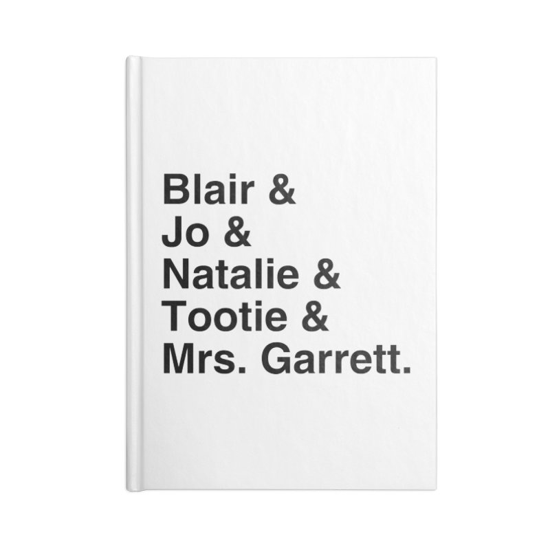 """SIDE EYE/""""The Facts Of Life"""" (Black) Accessories Notebook by Josh Sabarra's Shop"""