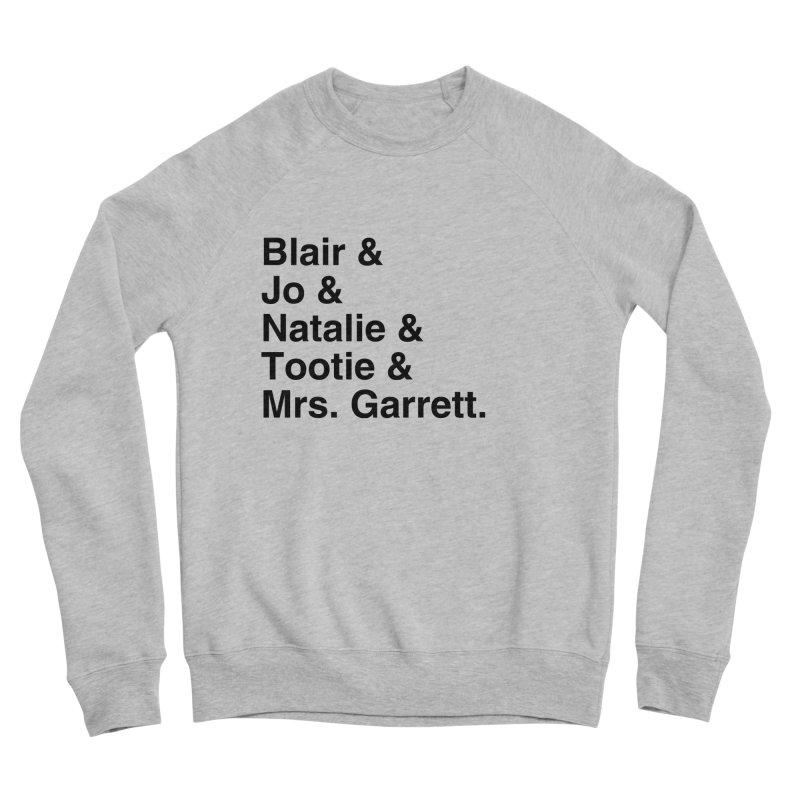 """SIDE EYE/""""The Facts Of Life"""" (Black) Women's Sponge Fleece Sweatshirt by Josh Sabarra's Shop"""