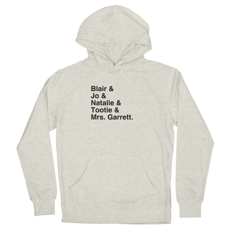 """SIDE EYE/""""The Facts Of Life"""" (Black) Women's French Terry Pullover Hoody by Josh Sabarra's Shop"""