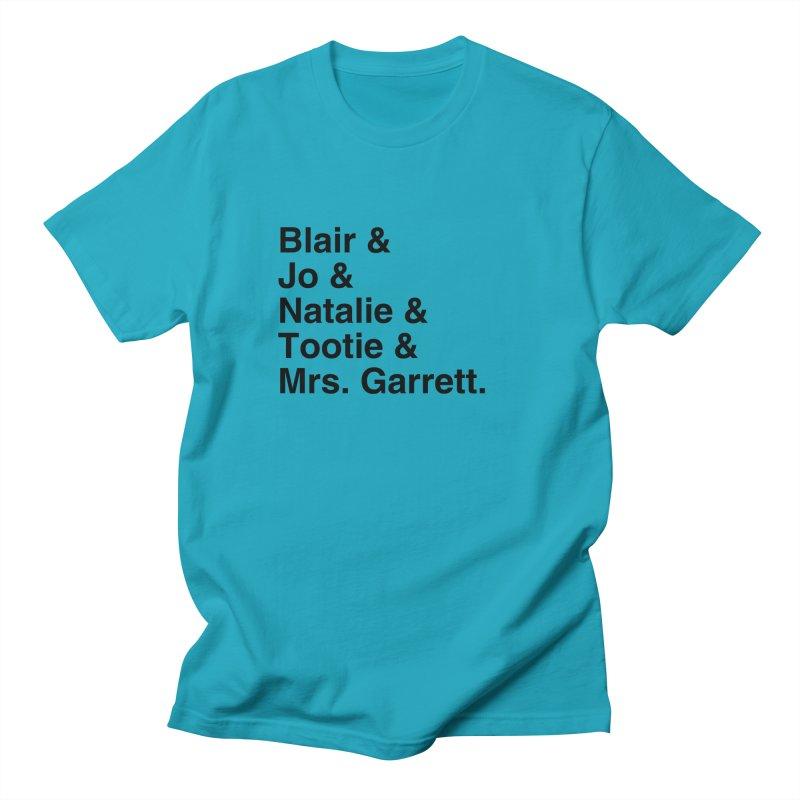 "SIDE EYE/""The Facts Of Life"" (Black) Women's Regular Unisex T-Shirt by Josh Sabarra's Shop"