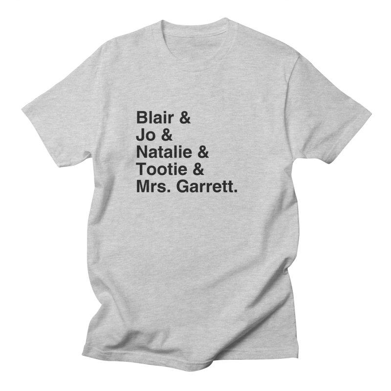 "SIDE EYE/""The Facts Of Life"" (Black) Men's Regular T-Shirt by Josh Sabarra's Shop"