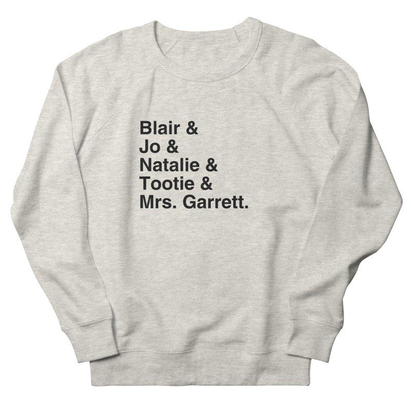 "SIDE EYE/""The Facts Of Life"" (Black) Women's French Terry Sweatshirt by Josh Sabarra's Shop"