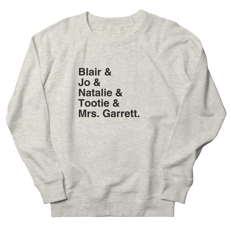"""SIDE EYE/""""The Facts Of Life"""" (Black) Men's French Terry Sweatshirt by Josh Sabarra's Shop"""