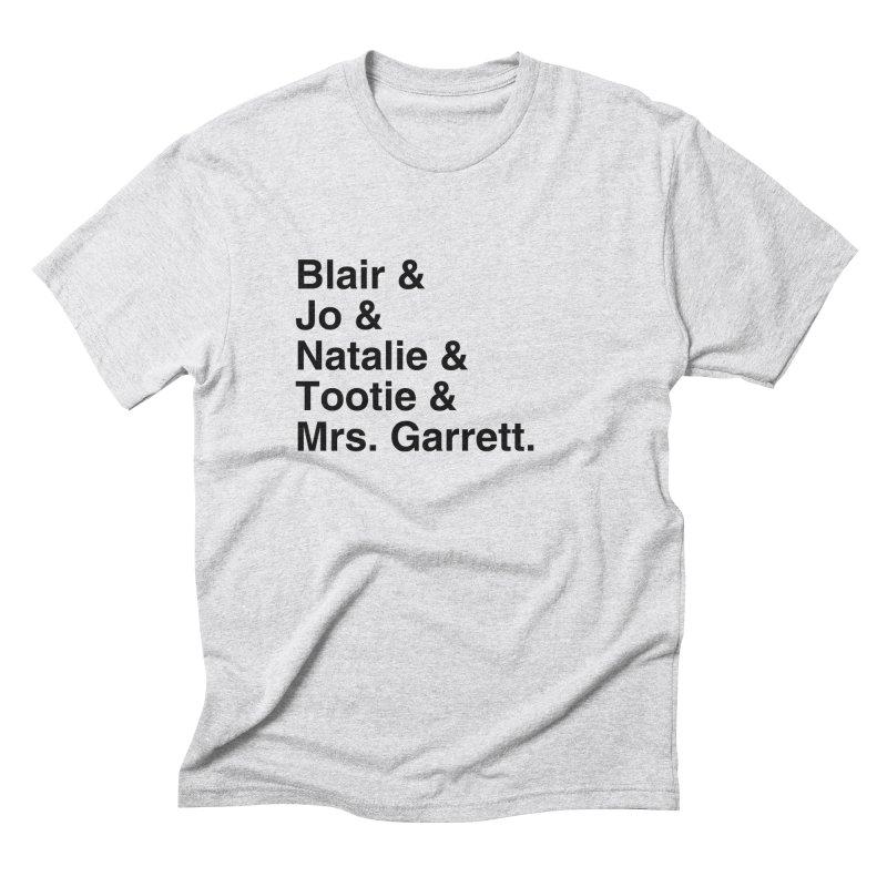 "SIDE EYE/""The Facts Of Life"" (Black) Men's Triblend T-Shirt by Josh Sabarra's Shop"