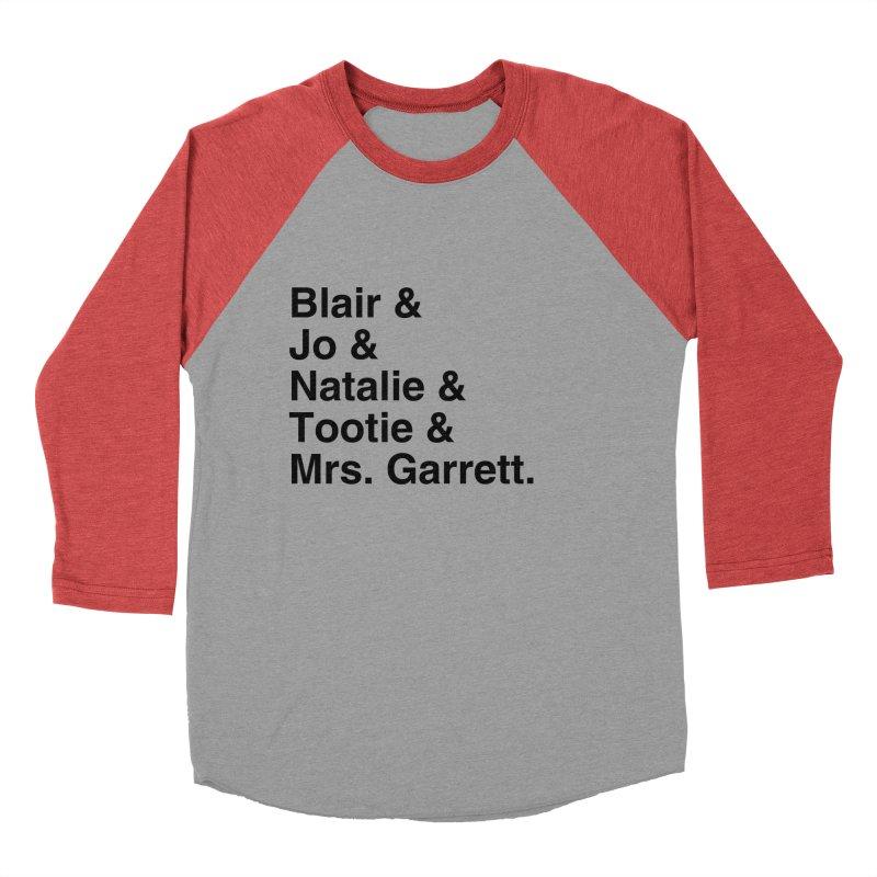 "SIDE EYE/""The Facts Of Life"" (Black) Women's Baseball Triblend Longsleeve T-Shirt by Josh Sabarra's Shop"