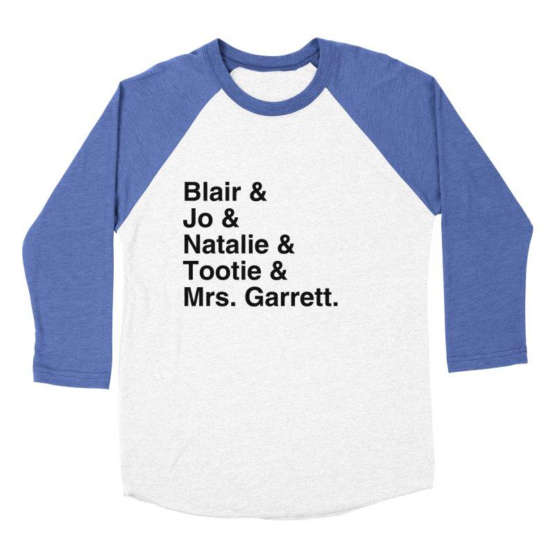 "SIDE EYE/""The Facts Of Life"" (Black) Men's Baseball Triblend Longsleeve T-Shirt by Josh Sabarra's Shop"