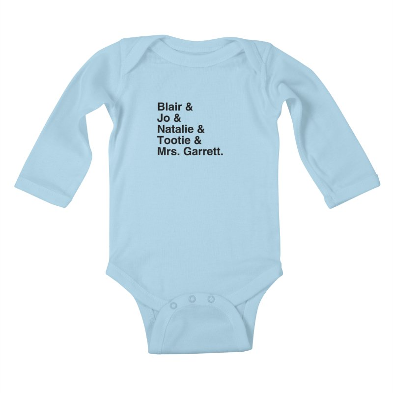 "SIDE EYE/""The Facts Of Life"" (Black) Kids Baby Longsleeve Bodysuit by Josh Sabarra's Shop"