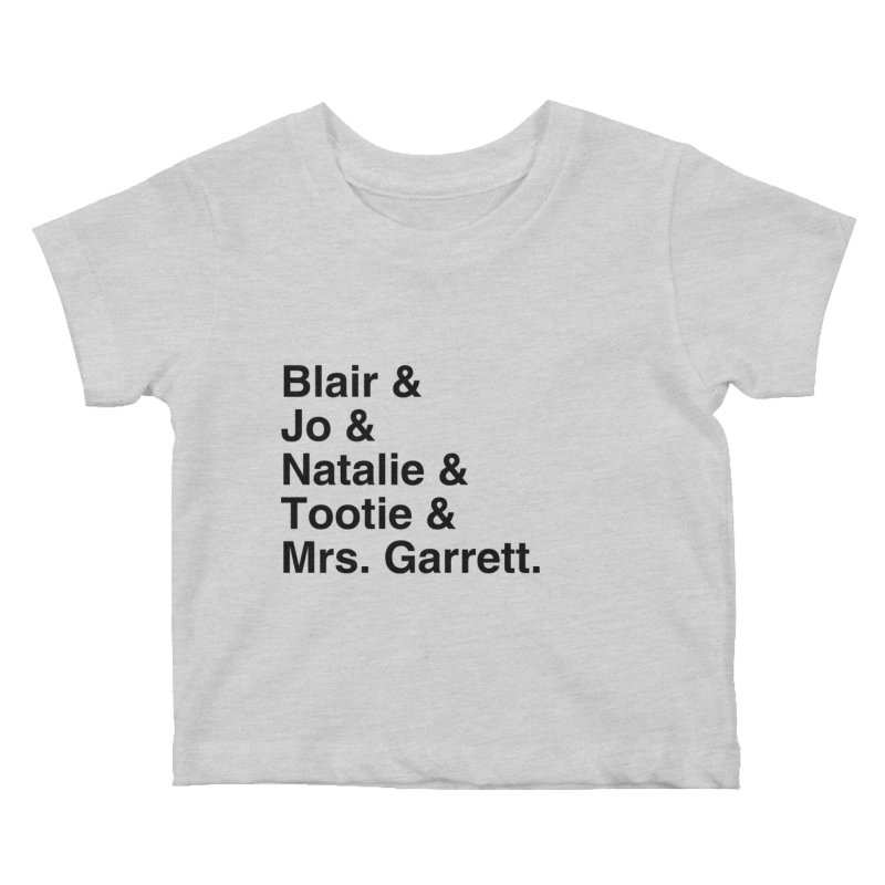 """SIDE EYE/""""The Facts Of Life"""" (Black) Kids Baby T-Shirt by Josh Sabarra's Shop"""