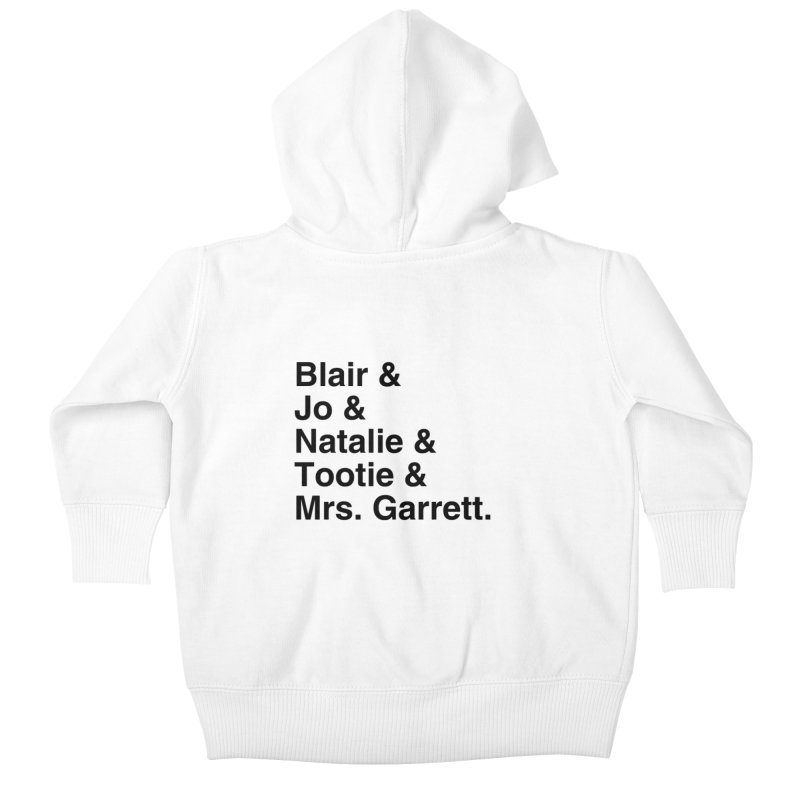 """SIDE EYE/""""The Facts Of Life"""" (Black) Kids Baby Zip-Up Hoody by Josh Sabarra's Shop"""