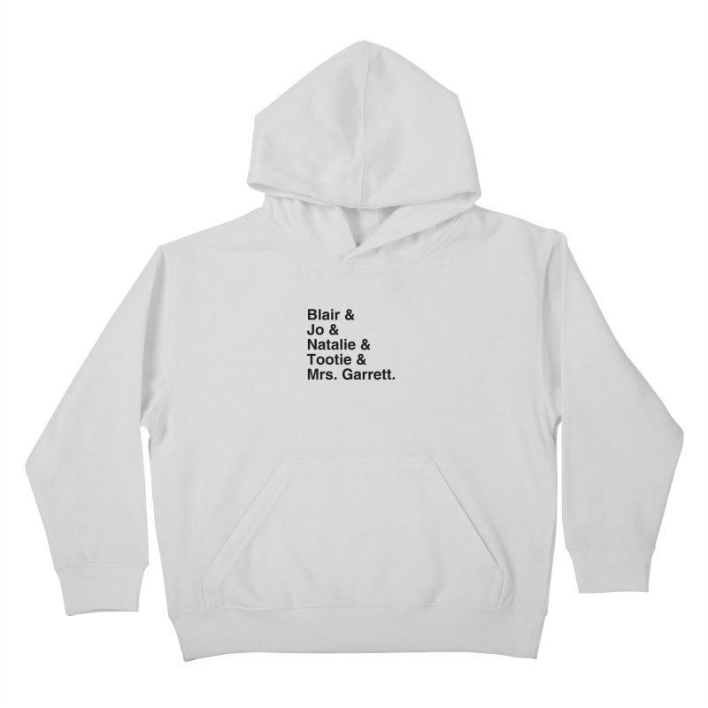 "SIDE EYE/""The Facts Of Life"" (Black) Kids Pullover Hoody by Josh Sabarra's Shop"