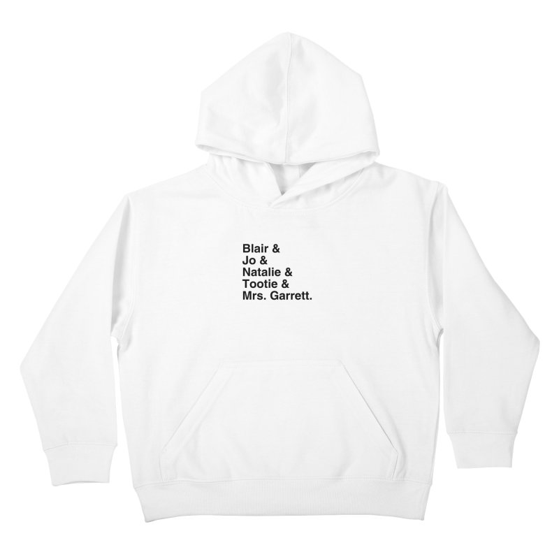 """SIDE EYE/""""The Facts Of Life"""" (Black) Kids Pullover Hoody by Josh Sabarra's Shop"""