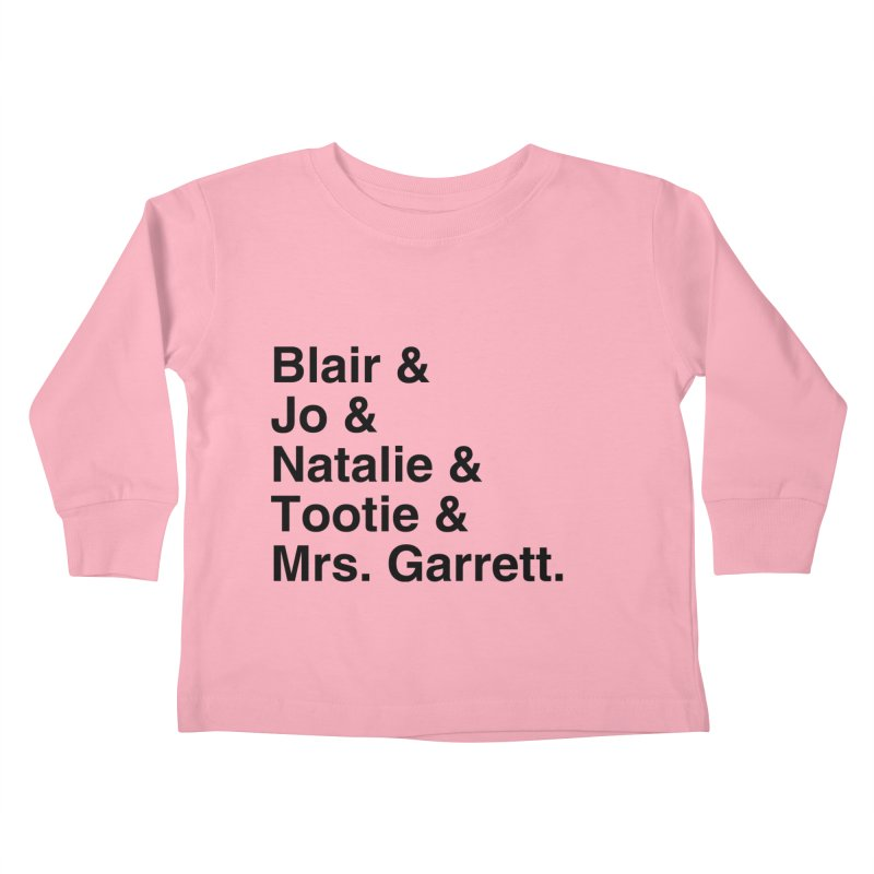 "SIDE EYE/""The Facts Of Life"" (Black) Kids Toddler Longsleeve T-Shirt by Josh Sabarra's Shop"