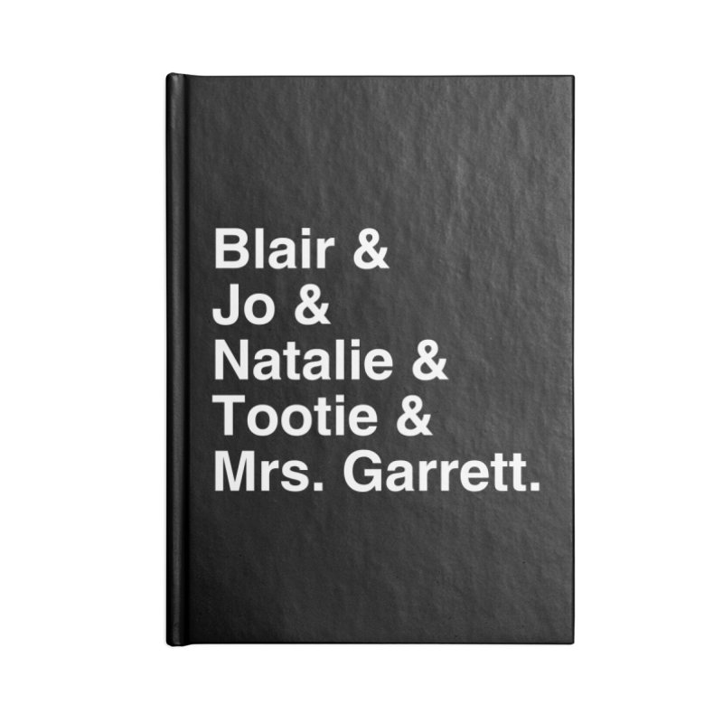 """SIDE EYE/""""The Facts Of Life"""" (White) Accessories Notebook by Josh Sabarra's Shop"""