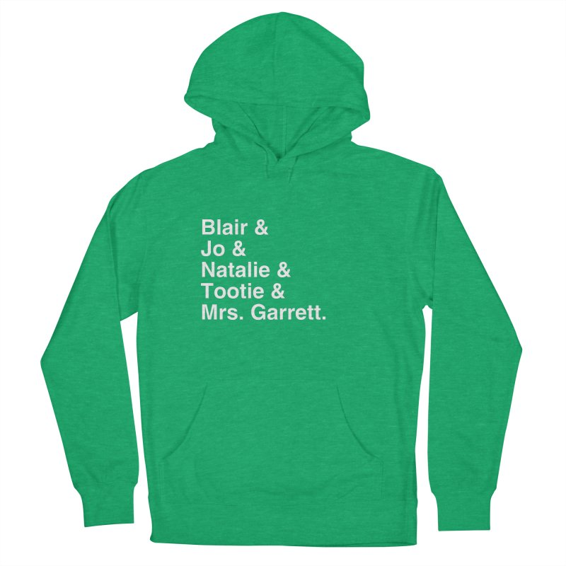 """SIDE EYE/""""The Facts Of Life"""" (White) Women's French Terry Pullover Hoody by Josh Sabarra's Shop"""
