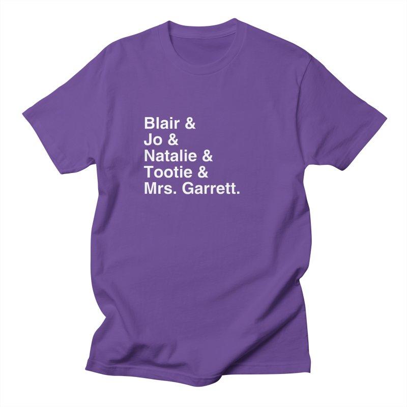 "SIDE EYE/""The Facts Of Life"" (White) Men's Regular T-Shirt by Josh Sabarra's Shop"