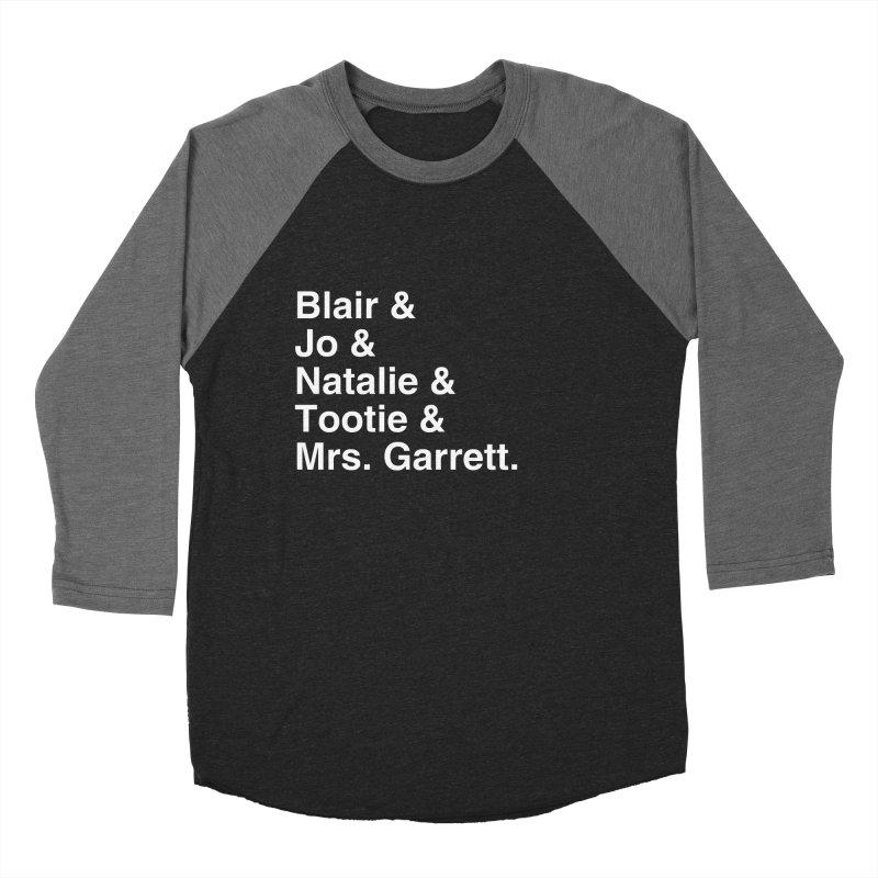 "SIDE EYE/""The Facts Of Life"" (White) Women's Baseball Triblend Longsleeve T-Shirt by Josh Sabarra's Shop"