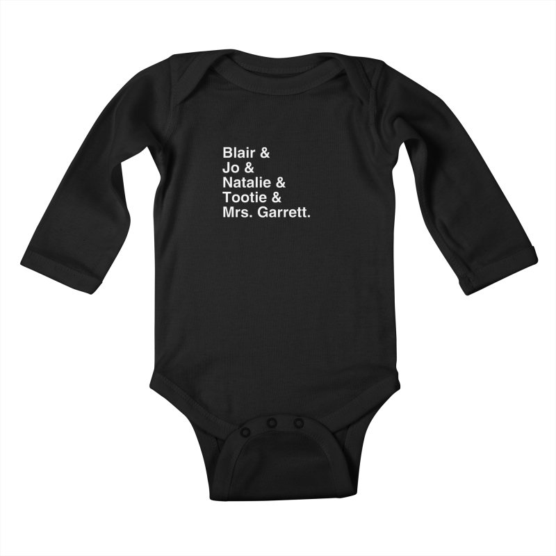 "SIDE EYE/""The Facts Of Life"" (White) Kids Baby Longsleeve Bodysuit by Josh Sabarra's Shop"