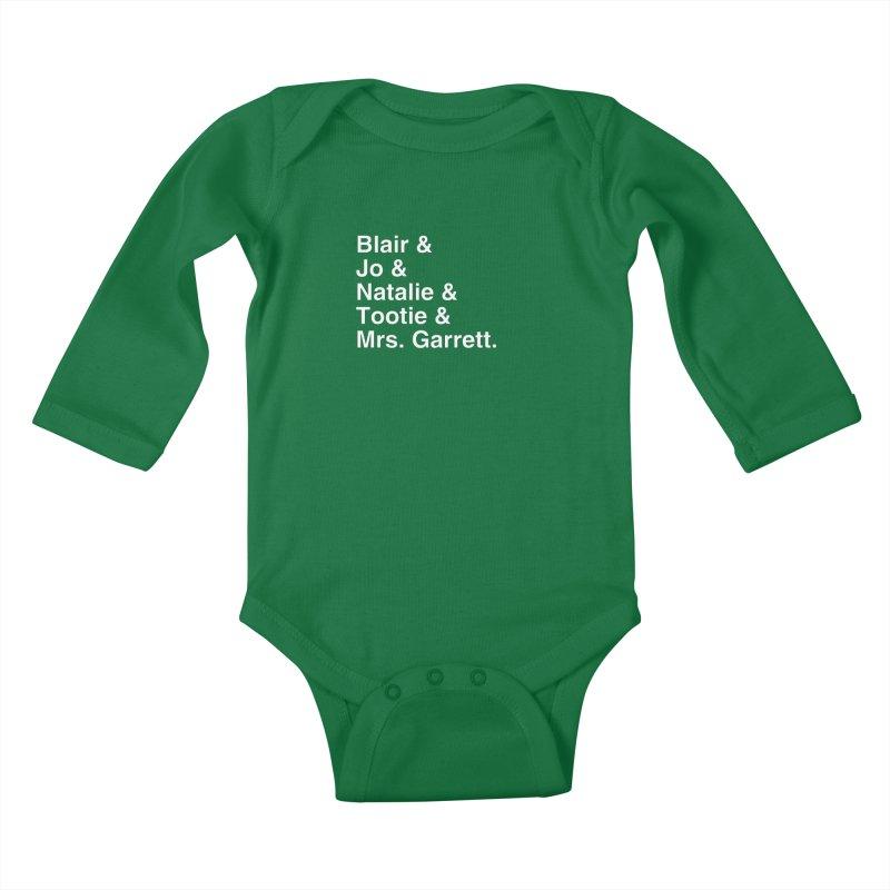 "SIDE EYE/""The Facts Of Life"" (White) Kids Baby Longsleeve Bodysuit by Josh Sabarra's Shop"