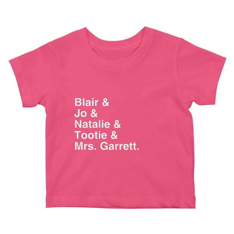 """SIDE EYE/""""The Facts Of Life"""" (White) Kids Baby T-Shirt by Josh Sabarra's Shop"""