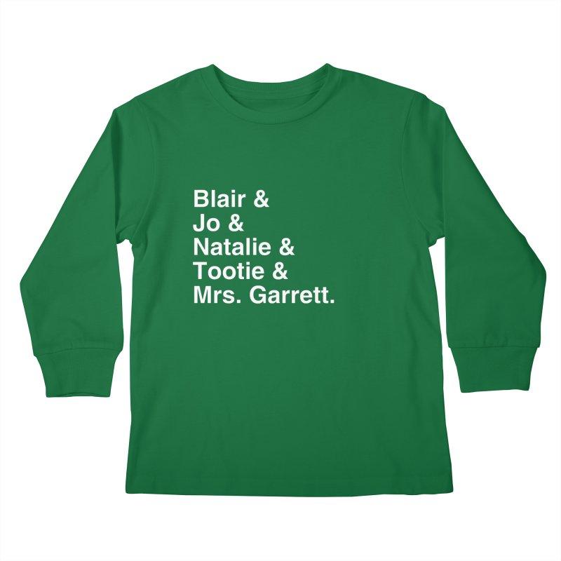"SIDE EYE/""The Facts Of Life"" (White) Kids Longsleeve T-Shirt by Josh Sabarra's Shop"
