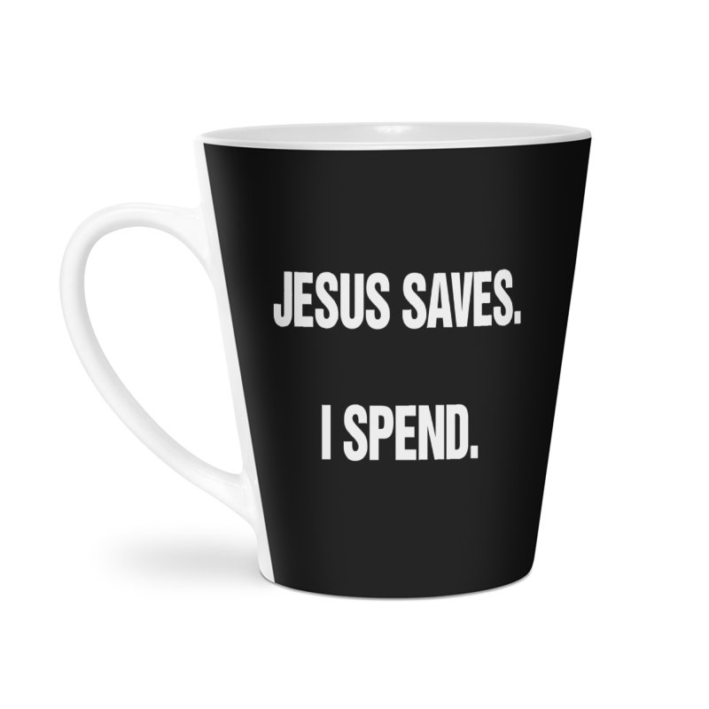 "SIDE EYE/""Jesus Saves"" (White) Accessories Mug by Josh Sabarra's Shop"
