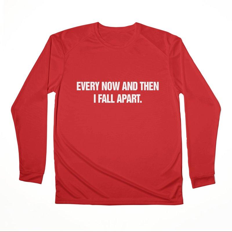 "SIDE EYE/""Total Eclipse"" (White) Men's Performance Longsleeve T-Shirt by Josh Sabarra's Shop"