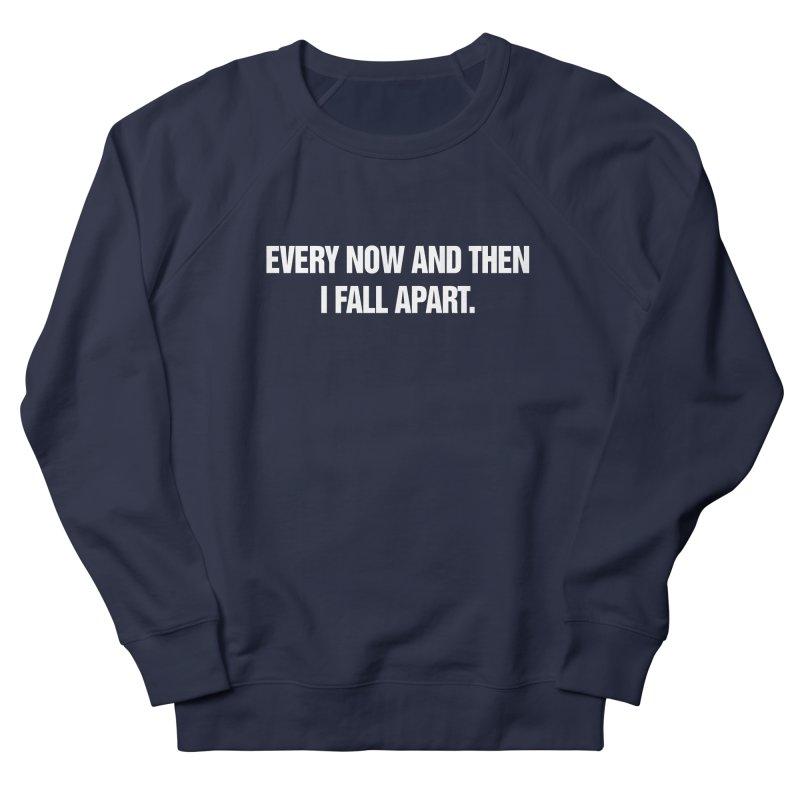 "SIDE EYE/""Total Eclipse"" (White) Men's French Terry Sweatshirt by Josh Sabarra's Shop"