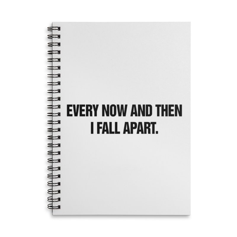 "SIDE EYE/""Total Eclipse"" (Black) Accessories Lined Spiral Notebook by Josh Sabarra's Shop"