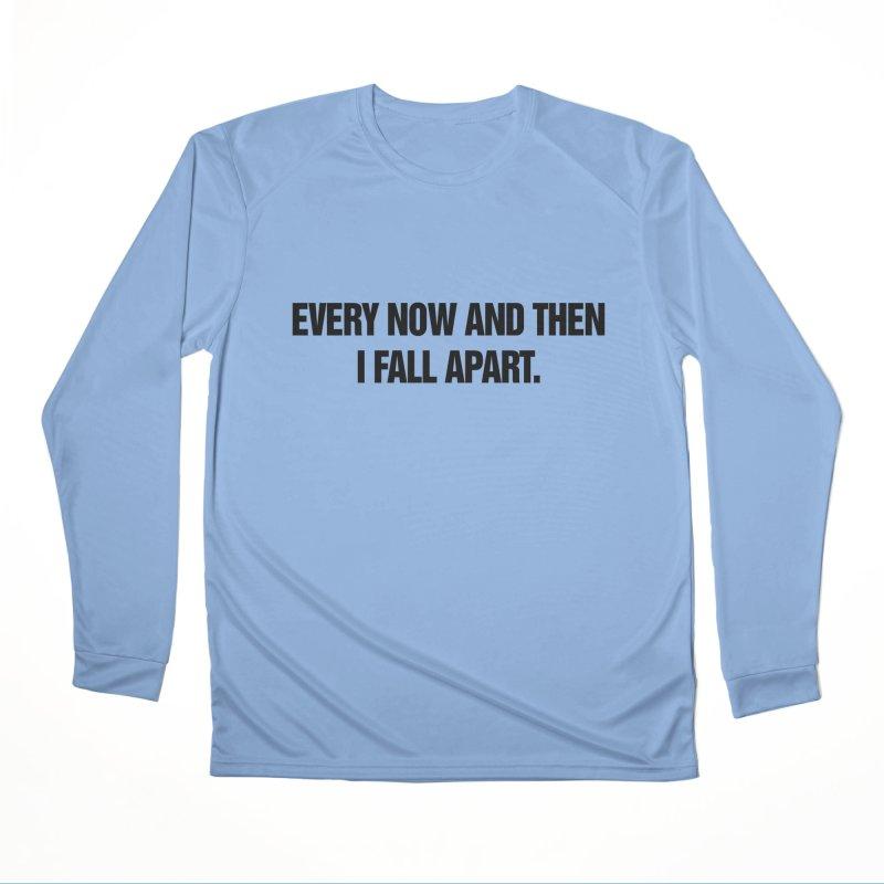 "SIDE EYE/""Total Eclipse"" (Black) Men's Performance Longsleeve T-Shirt by Josh Sabarra's Shop"