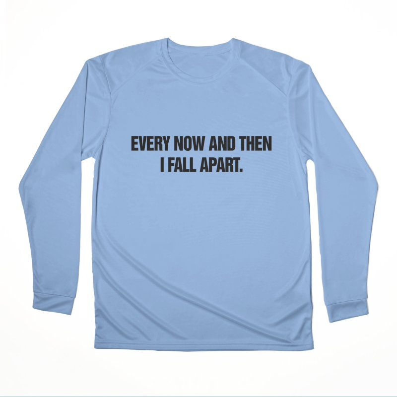 """SIDE EYE/""""Total Eclipse"""" (Black) Women's Performance Unisex Longsleeve T-Shirt by Josh Sabarra's Shop"""