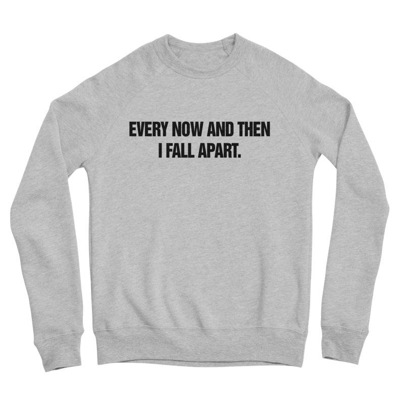 """SIDE EYE/""""Total Eclipse"""" (Black) Men's Sponge Fleece Sweatshirt by Josh Sabarra's Shop"""