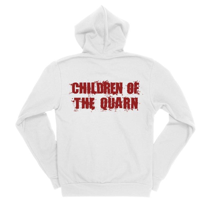 "SIDE EYE/""Children of the Quarn"" (Red) Men's Zip-Up Hoody by Josh Sabarra's Shop"