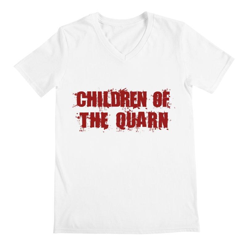 "SIDE EYE/""Children of the Quarn"" (Red) Men's V-Neck by Josh Sabarra's Shop"