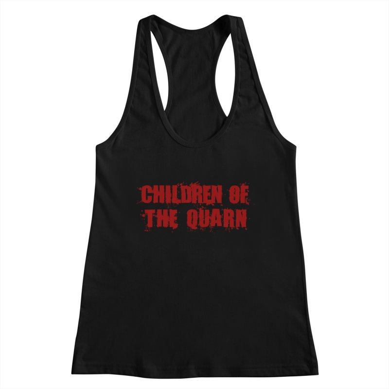 "SIDE EYE/""Children of the Quarn"" (Red) Women's Tank by Josh Sabarra's Shop"