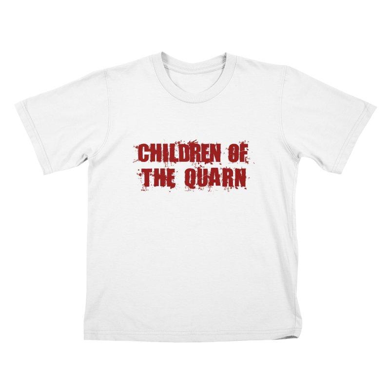 "SIDE EYE/""Children of the Quarn"" (Red) Kids T-Shirt by Josh Sabarra's Shop"