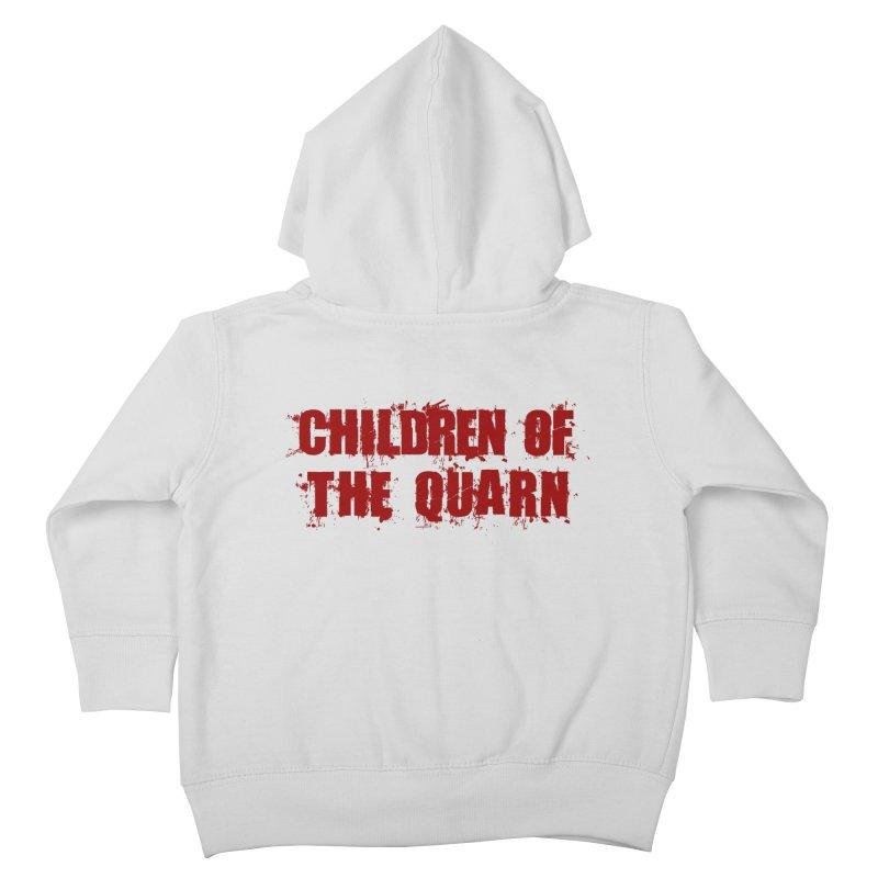"SIDE EYE/""Children of the Quarn"" (Red) Kids Toddler Zip-Up Hoody by Josh Sabarra's Shop"