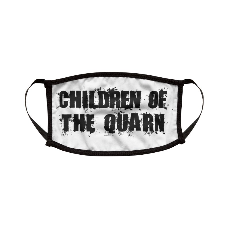 "SIDE EYE/""Children of the Quarn"" (Black) Accessories Face Mask by Josh Sabarra's Shop"