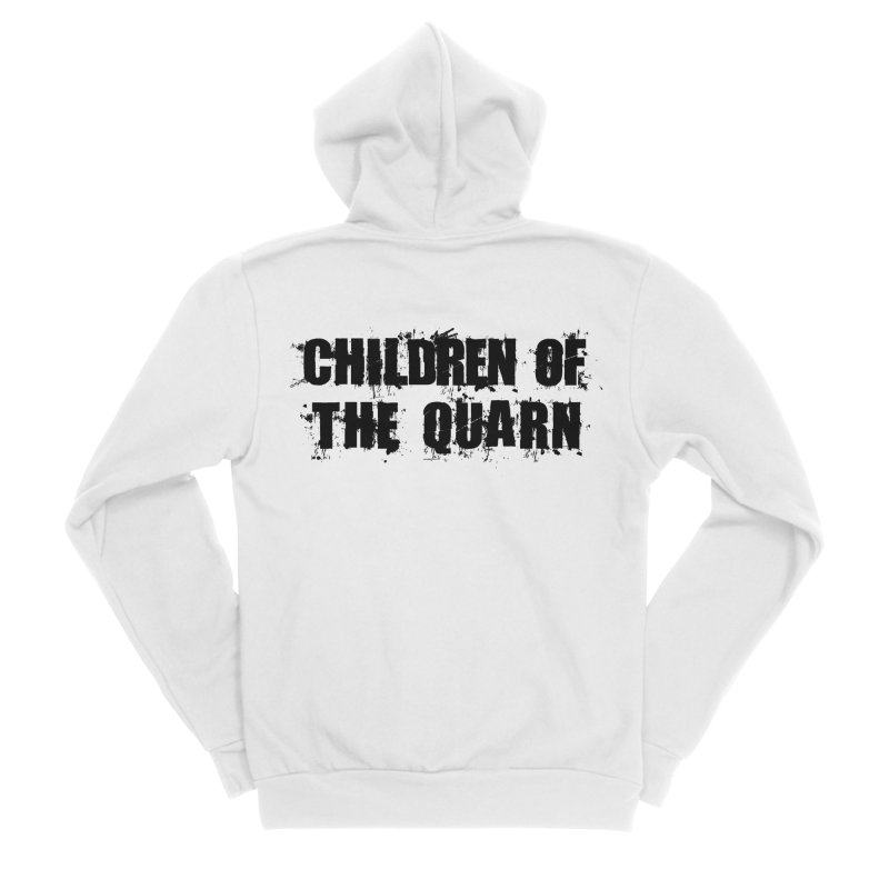 "SIDE EYE/""Children of the Quarn"" (Black) Men's Zip-Up Hoody by Josh Sabarra's Shop"