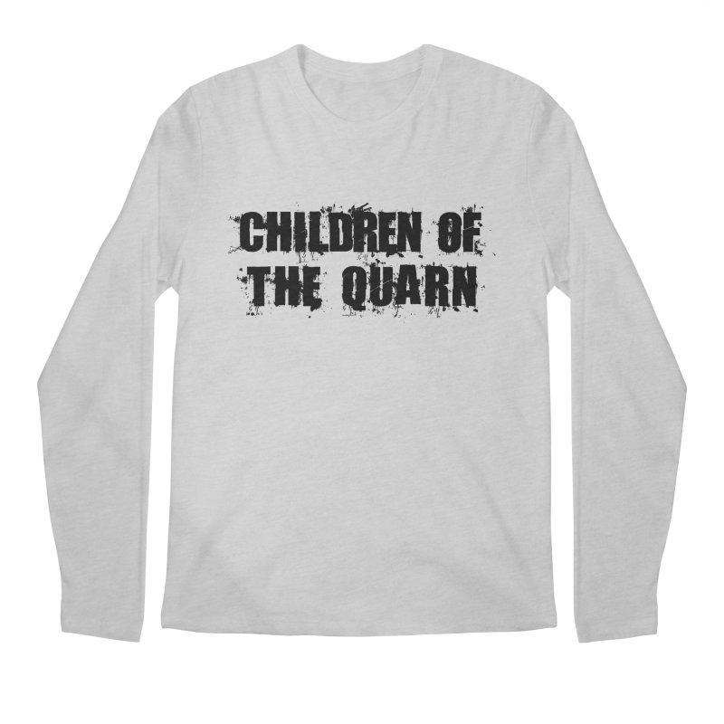 "SIDE EYE/""Children of the Quarn"" (Black) Men's Longsleeve T-Shirt by Josh Sabarra's Shop"