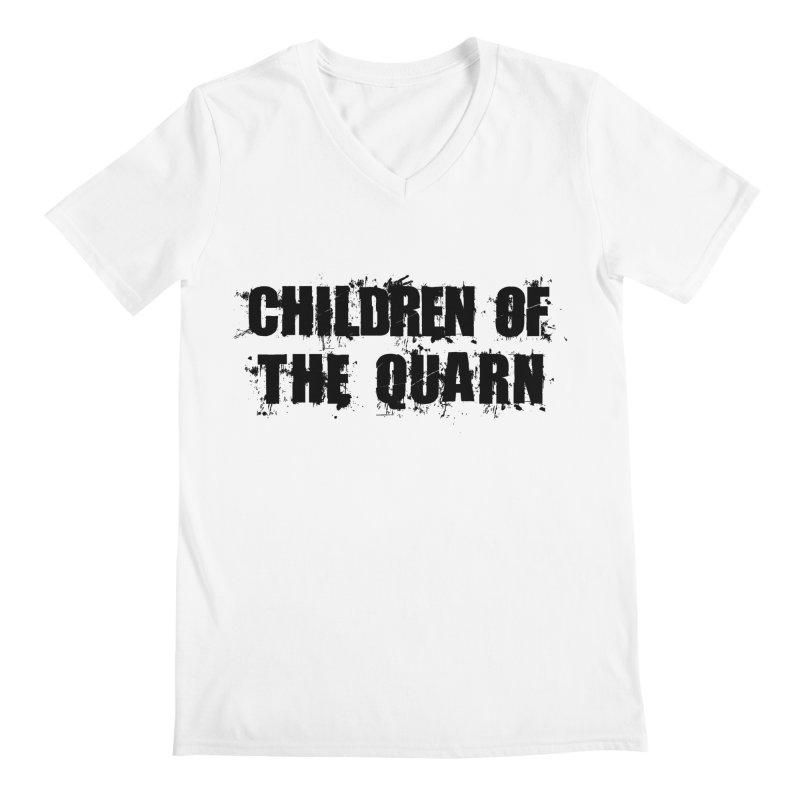 "SIDE EYE/""Children of the Quarn"" (Black) Men's V-Neck by Josh Sabarra's Shop"