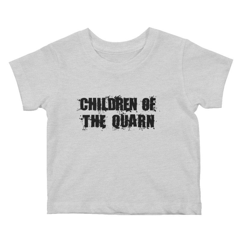 "SIDE EYE/""Children of the Quarn"" (Black) Kids Baby T-Shirt by Josh Sabarra's Shop"