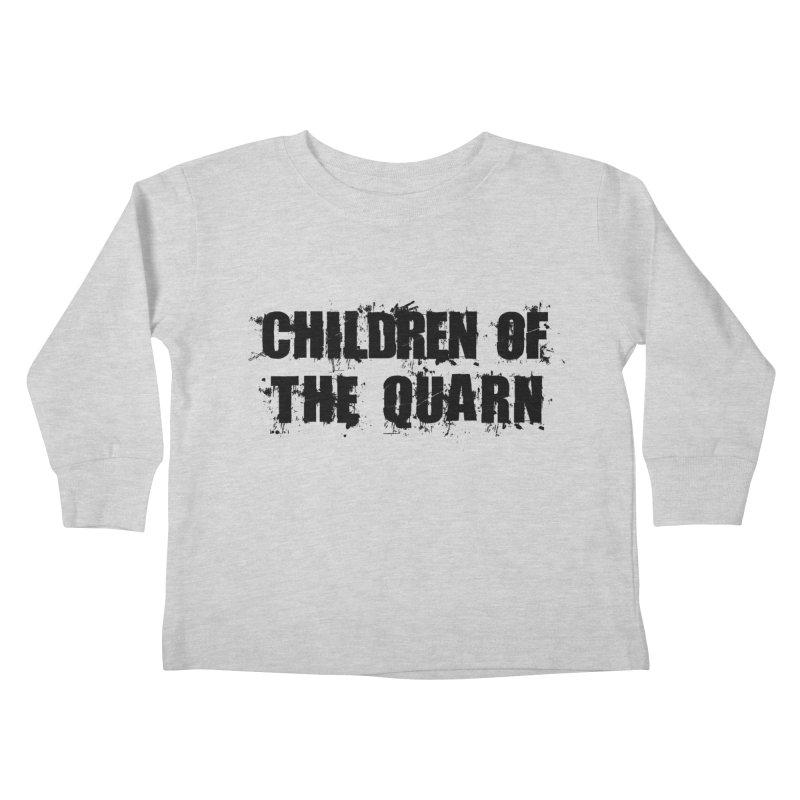 "SIDE EYE/""Children of the Quarn"" (Black) Kids Toddler Longsleeve T-Shirt by Josh Sabarra's Shop"