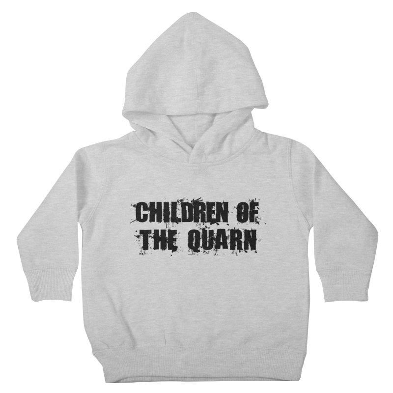 "SIDE EYE/""Children of the Quarn"" (Black) Kids Toddler Pullover Hoody by Josh Sabarra's Shop"