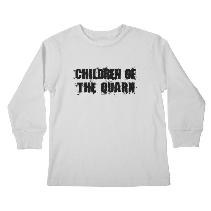 "SIDE EYE/""Children of the Quarn"" (Black) Kids Longsleeve T-Shirt by Josh Sabarra's Shop"