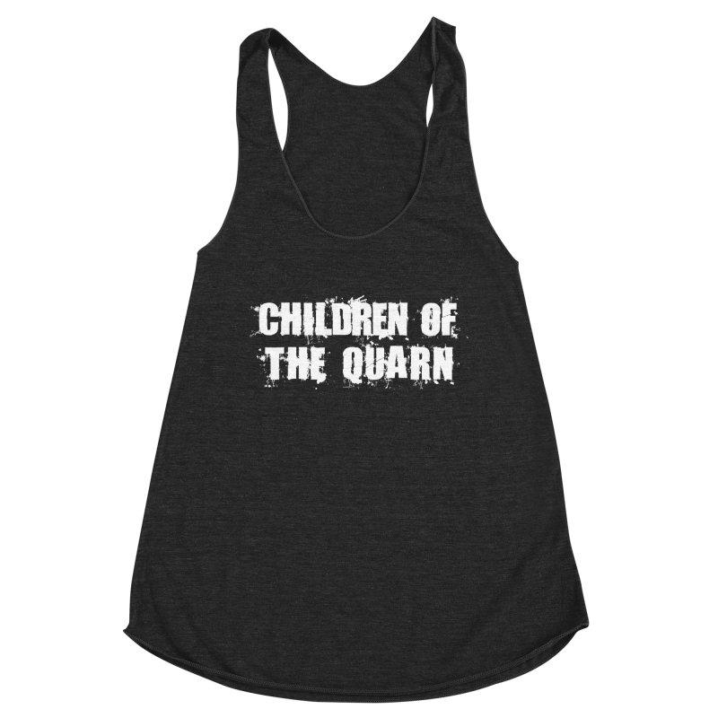 "SIDE EYE/""Children of the Quarn"" (White) Women's Tank by Josh Sabarra's Shop"