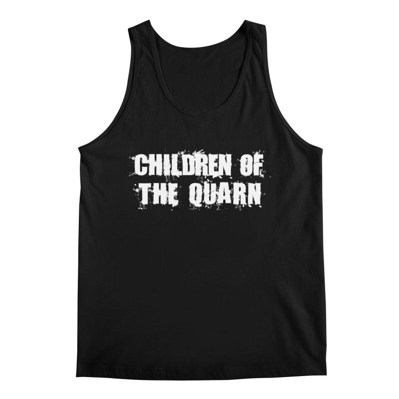 "SIDE EYE/""Children of the Quarn"" (White) Men's Tank by Josh Sabarra's Shop"