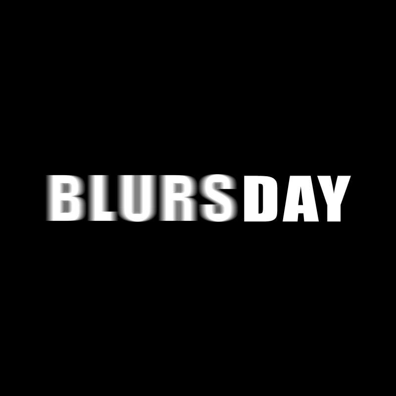"""SIDE EYE/""""Blursday"""" (White) Men's Tank by Josh Sabarra's Shop"""