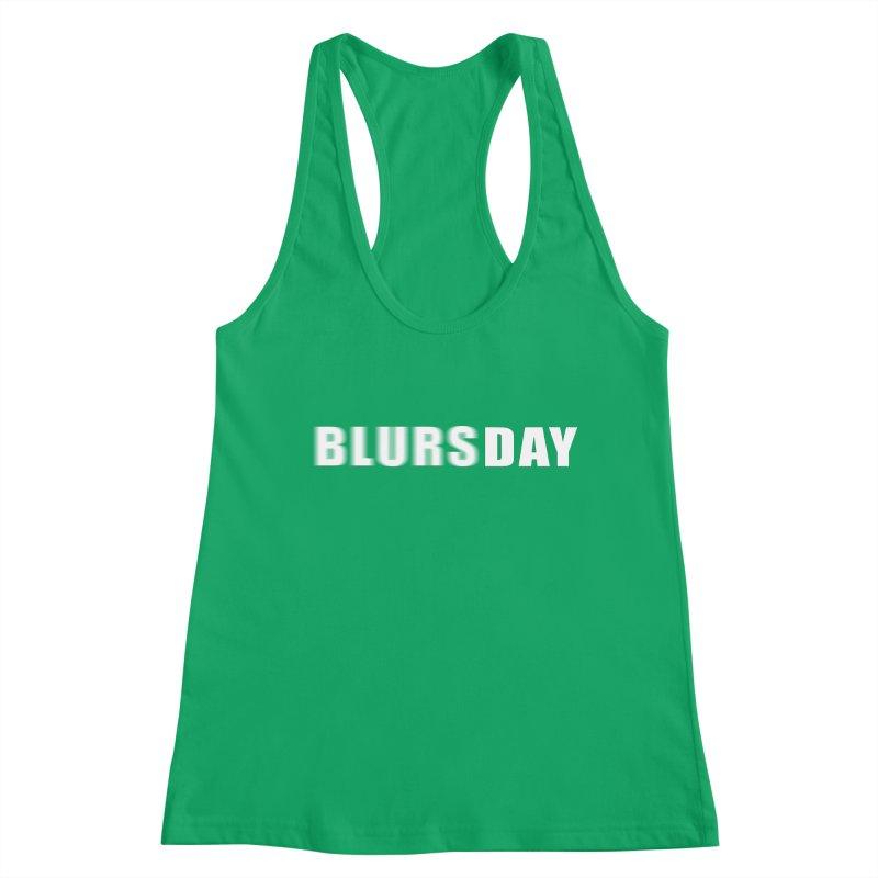 "SIDE EYE/""Blursday"" (White) Women's Tank by Josh Sabarra's Shop"