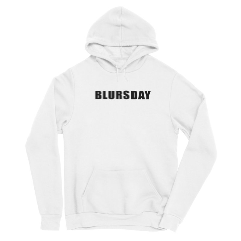 """SIDE EYE/""""Blursday"""" (Black) Women's Pullover Hoody by Josh Sabarra's Shop"""