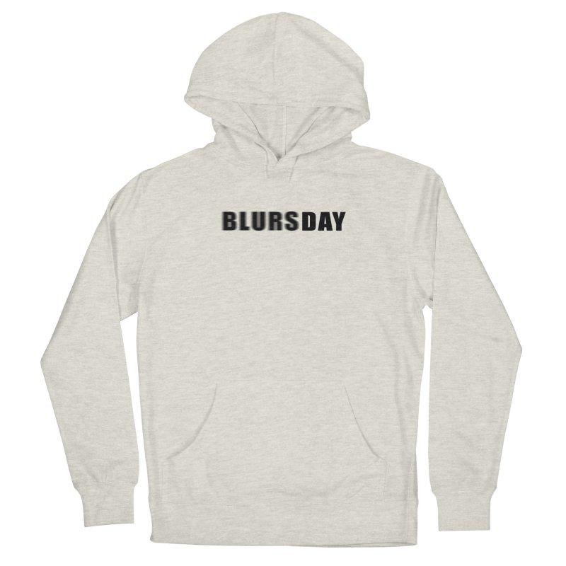 "SIDE EYE/""Blursday"" (Black) Men's Pullover Hoody by Josh Sabarra's Shop"